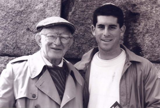 Mike Kaufman and His Grandfather who survived the Shoah