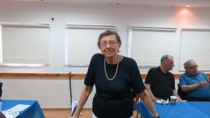 Gerta Solan made aliyah a mere two years ago from Canada. (Yaakov Schwartz)